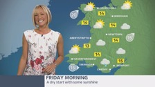 Wales Weather: Make the most of the dry start!