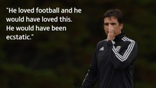 Coleman wishes father could see Wales' successful run