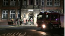 West Midlands Fire Service says it has managed to save a former college in the Black Country