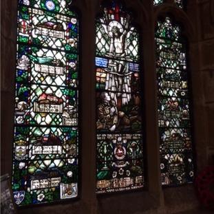 The Bradford Pals window