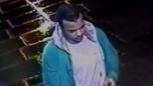CCTV of man wanted over rape of woman, 20, in Finchley