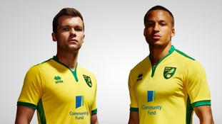 Norwich City unveil new home kit for Championship campaign