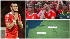 Football-loving Welsh couple arrive in WRONG Lille