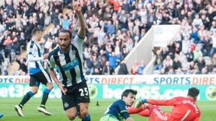 Crystal Palace bring in England winger Andros Townsend from Newcastle