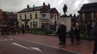 Chorley Pals memorial for Battle of Somme