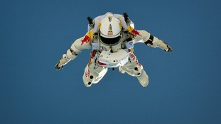 Felix Baumgartner will skydive from the edge of space