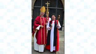 The Right Reverend Janet McFarlane and The Archbishop of Canterbury