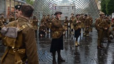 First World War soldiers appear across country in Somme tribute