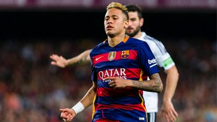 Forward Neymar signs new Barcelona contract