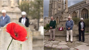 The East falls silent to remember the fallen Somme soldiers