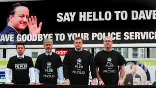 Police 'protest' expected outside Conservative Party conference