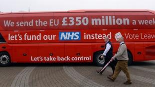 Leave's battle bus