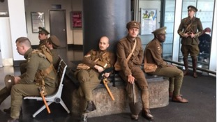 Video: 'Ghost soldiers' moving North West to tears