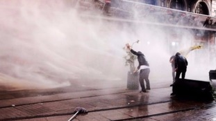 Unused water cannon worth £200,000 to be sold off.