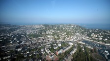 aerial still of Torbay