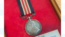 Appeal to find family of WW1 soldier after medal found in cupboard