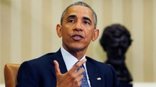 President Barack Obama has called for action