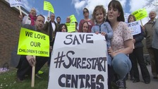 Hampshire closes 43 children's centres despite campaign