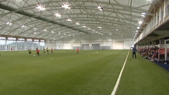 The new FA centre in Staffordshire 
