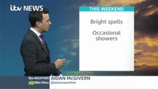 Aidan has the latest ITV Meridian weather