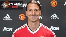 'It's Zlatan time' as Man Utd complete Ibrahimovic deal