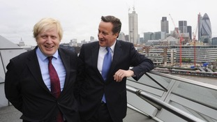 Boris Johnson and David Cameron.