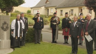 Tynesiders mark centenary with service on the Somme