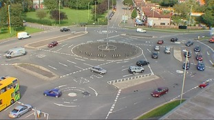 Swindon's so-called 'Magic Roundabout'
