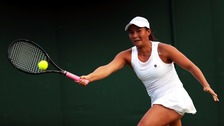 World number 227 Tara Moore provided a genuine scare to the world number 14.