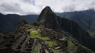 The Machu Picchu site was built by the Incas in the 15th century to worship the sun.