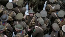 Secrets of 'walking ghost' Somme tribute revealed