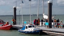 Man left with serious head injuries during Round the Island race practise