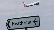 Terror threat made against Heathrow flight to US