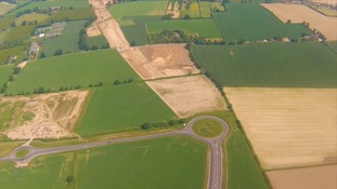 The NDR starts at Postwick to the east of the city, where a new junction has already been built.