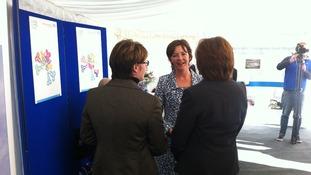 Duchess meets designers