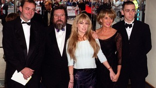 Caroline Aherne with her Royle Family co-stars, pictured in 2000.