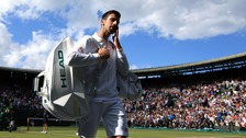 Top seed Novak Djokovic has lost to 28th seed Sam Querrey
