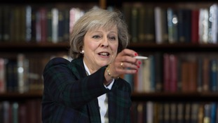 Mrs May is though to be able to count on the backing of six out 10 Tory MPs