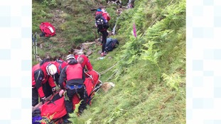 Fell runners rescued in Lake District