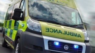 Pensioner crushed by ambulance on 999 call