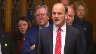 Douglas Carswell speaking in the House of Commons during Prime Minster's Questions.