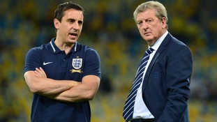 Gary Neville refutes Observer article about working relationship with Hodgson at Euro 2016