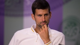 Laver: Something off with Djokovic in Wimbledon defeat