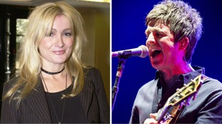 Noel Gallagher plays heartfelt tribute to friend Caroline Aherne