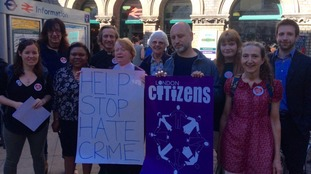 Campaigners from London Citizens