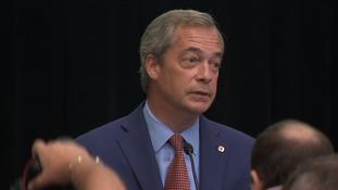 Nigel Farage resigned as Ukip leader on Monday.