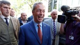 Live updates: Nigel Farage resigns as Ukip leader
