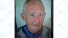 Missing pensioner Brian Barnes