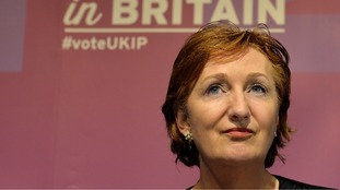 Suzanne Evans was sacked twice by Nigel Farage.