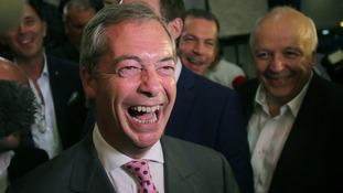 Nigel Farage resigned as leader of Ukip on Monday.